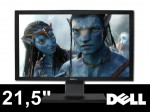 "DELL P2211 21,5"" LED ! FULL HD 16:9 ! HUB USB DVI ! JAK NOWY"
